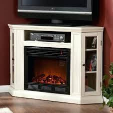 Small Electric Fireplace Best White Electric Fireplace Tv Stand Of 2017 Tv Stand With