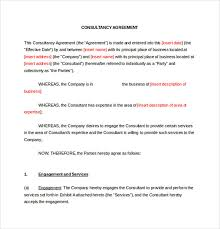 Business Consultant Resume Business Consultant Agreement Template Virtren Com