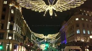 christmas lights london regent street 2016 youtube