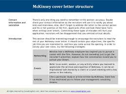 who should i address my cover letter to mckinsey