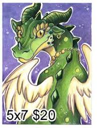 aceo cards for sale amethyst jumbo sized card aceo by cybercatgraphics this