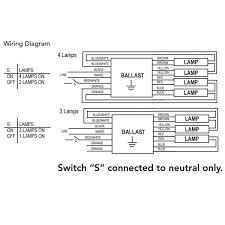 howard lighting 4 lamp t5 programmed rapid start ballast ep4 54ho