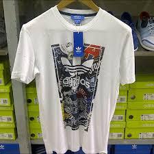 Baju Adidas Ori adidas original tees tshirt kaos baju preloved fesyen pria di carousell