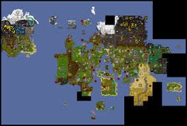 Oldschool Runescape World Map by Image Teleport Map Png Old Runescape Wiki Fandom