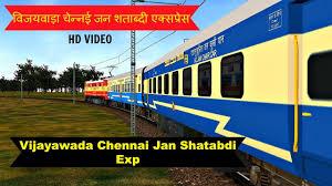 vijayawada travel guide vijayawada chennai jan shatabdi exp part 2 in msts open rails by