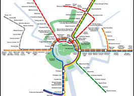 washington subway map can science untangle our transit maps science friday
