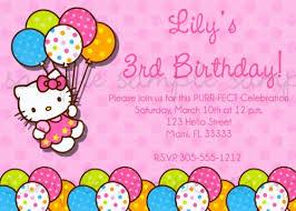 hello kitty birthday invitations plumegiant com