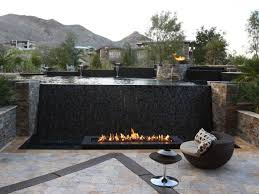 Modern Fire Pits by Modern Outdoor In Ground Fire Pit Ideas Orchidlagoon Com
