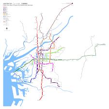 Korea Subway Map by Subway Osaka Metro Map Japan
