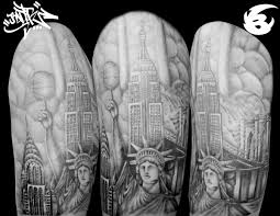tattoo pictures of new york new york tattoo style by badder israel badder