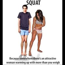 Skinny Guy Meme - compares her fit and well trained legs with a skinny guy