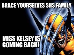 Meme Creator Brace Yourself - meme maker brace yourselves shs family miss kelsey is coming back