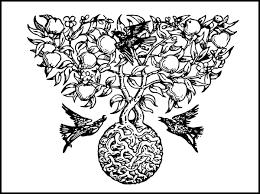tree motif clip at clker vector clip royalty