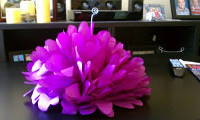 paper flower centerpieces what do you think of my diy tissue paper flower centerpiece