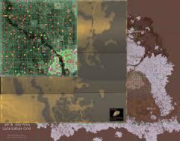 map size comparison fo4 fo3 skyrim map size comparison scaled to grid fo4