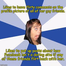 How To Put A Meme On Facebook Comments - annoying facebook girl memes imgflip