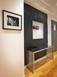Accent Wall Tips by Photos Hgtv Contemporary Entryway With Ebony Accent Wall And