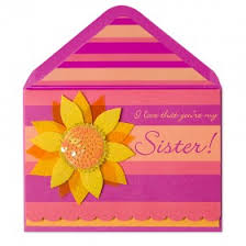 bella pilar fashion for sister family birthday cards