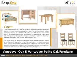 Vancouver Oak Coffee Table - besp oak furniture stockists choice furniture superstore