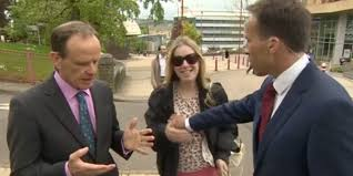 Hollie Camwithher - bbc reporter ben brown slapped by woman after grabbing her boob