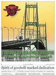 Thousand Islands by Thousand Islands Bridge 75 Years Of International Goodwill