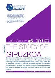 case study sample report zero waste case studies zero waste europe frontpage gipuzkoa