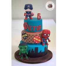 marvel cake toppers marvel funko pops cake by mericakes cake by mericakes