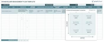Risk Management Worksheet Fillable Free Stakeholder Analysis Templates Smartsheet