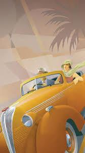 art deco style illustration by stephen fuller http www