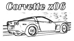 coloring pages drifting cars corvette cars corvette z06 cars coloring pages coloring for