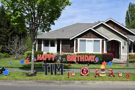 holy smokes we have a birthday yard announcements