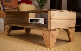 Coffee Table From Pallet Easy Handmade Pallet Coffee Table Wooden Pallet Furniture