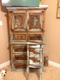 rustic jewelry armoire rustic jewelry armoire refinish