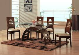 glass top dining table set 6 chairs 4 chair wooden dining table dining room glass dining table sets