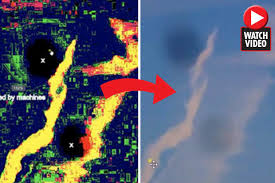 is time travel real images Time travel proof video 39 shows time portals opening in skies jpg