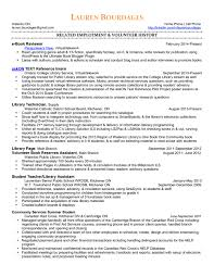 Library Technician Cover Letter Librarian Resume Resume For Your Job Application