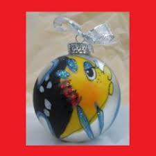 caribbean ornaments painted ornaments st
