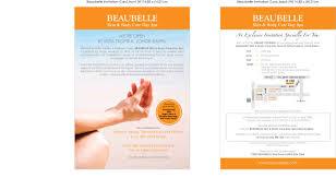 Inauguration Invitation Card Sample Beaubelle Invitation Card 1 Cest La Vie