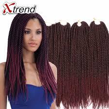 twisted hair for chrochet senegalese twist hair crochet 18 inch