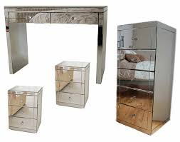 Tall Boy Table Chelsea Mirrored Furniture Package My Furniture