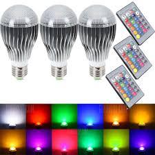 dimmable led light bulbs supli led light bulb 10w rgb color changing dimmable led light bulbs