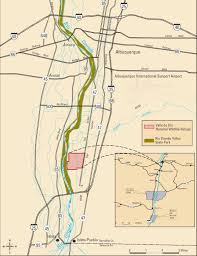 Albuquerque Map Friends Of Valle De Oro Nwr Map Of Our Location