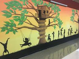 murals kelsey b anderson artist three seasons mural children s way preschool
