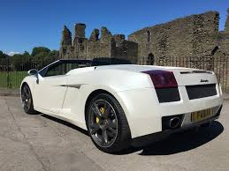 lamborghini customised used pearl white lamborghini gallardo for sale swansea