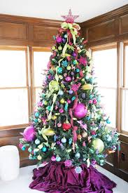 stunning colorful tree decorating ideas 56 with