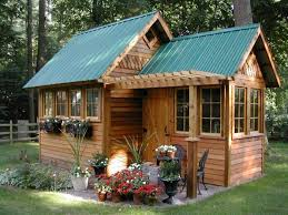 Summer Garden Houses - the small shed to the neat block hut u2013 garden house is not equal