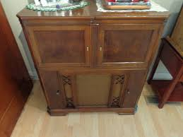 Ebay Console Table by Antique Zenith Radio 1942 Am Fm Radio Phonograph Console Furniture