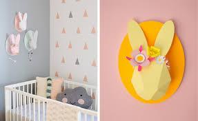 décoration chambre bébé decoration lapin chambre bebe visuel 3
