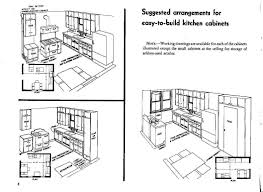 Draw Kitchen Cabinets by Kitchen Cabinet Section Dwg Monsterlune
