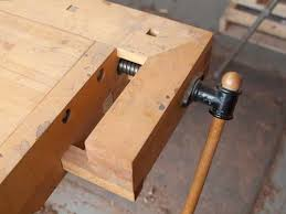 Woodworking Bench Vise Hardware by The Traditional Tail Vise Followup